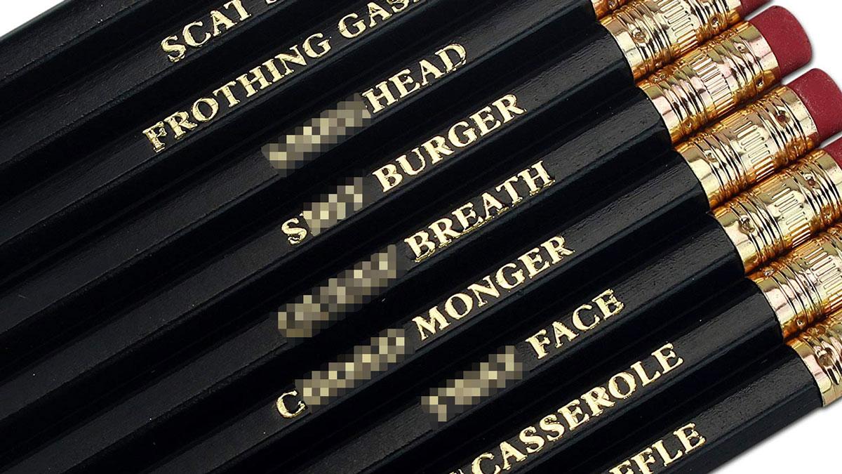 Offencils Profanity Pencils (NSFW)