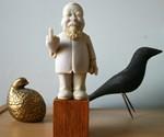 Ai Weiwei Statue
