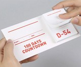 100 Days Countdown Sticky Notes