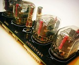 Black Retro Nixie Clock