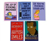 Books from The Simpsons Notebooks