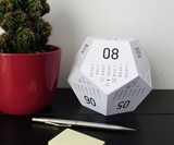 Dicecal RPG Dice Desk Calendar