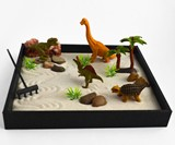 Dinosaur Zen Garden