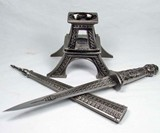 Eiffel Tower Hidden Knife
