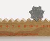 Monthly Measure Perpetual Calendar & Ruler