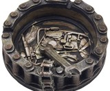 Motorcycle Chain Ashtray