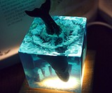 The Lost Atlantis Sea Monster Desk Light