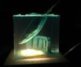 The Lost Atlantis Sea Monster Desk Light