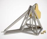 Working Mini Desktop Metal Trebuchet