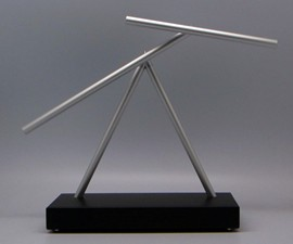 Iron Man 2 Swinging Sticks Kinetic Energy Sculpture