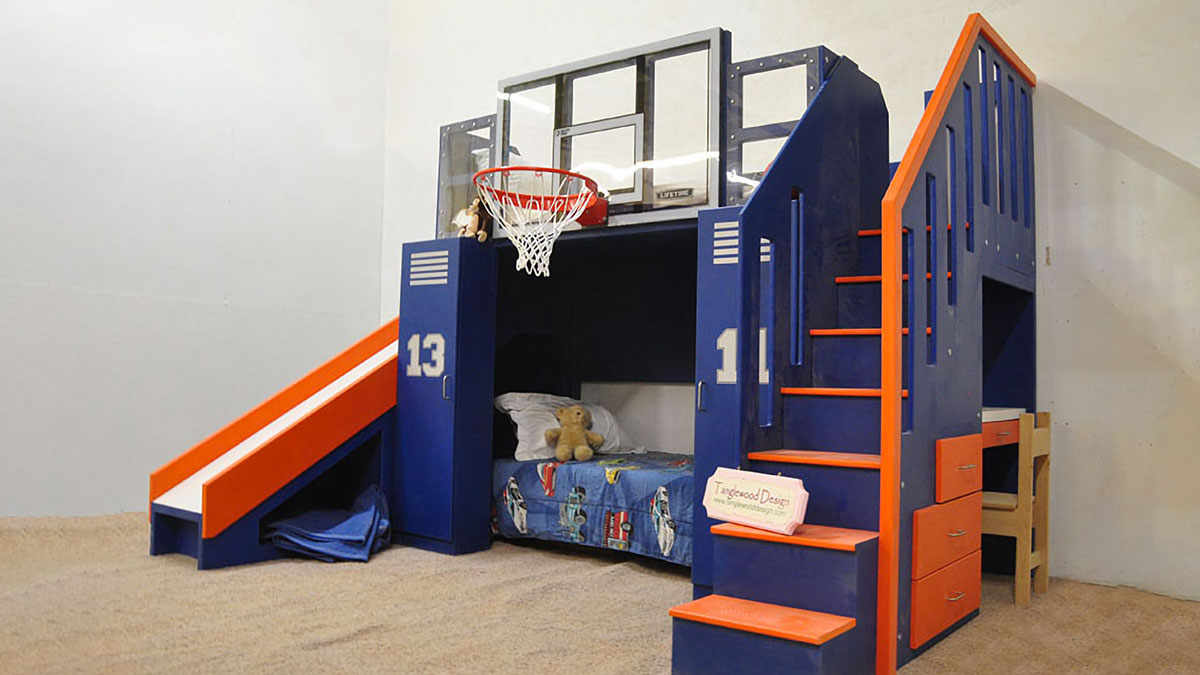 Picture of: Basketball Bunk Bed Dudeiwantthat Com