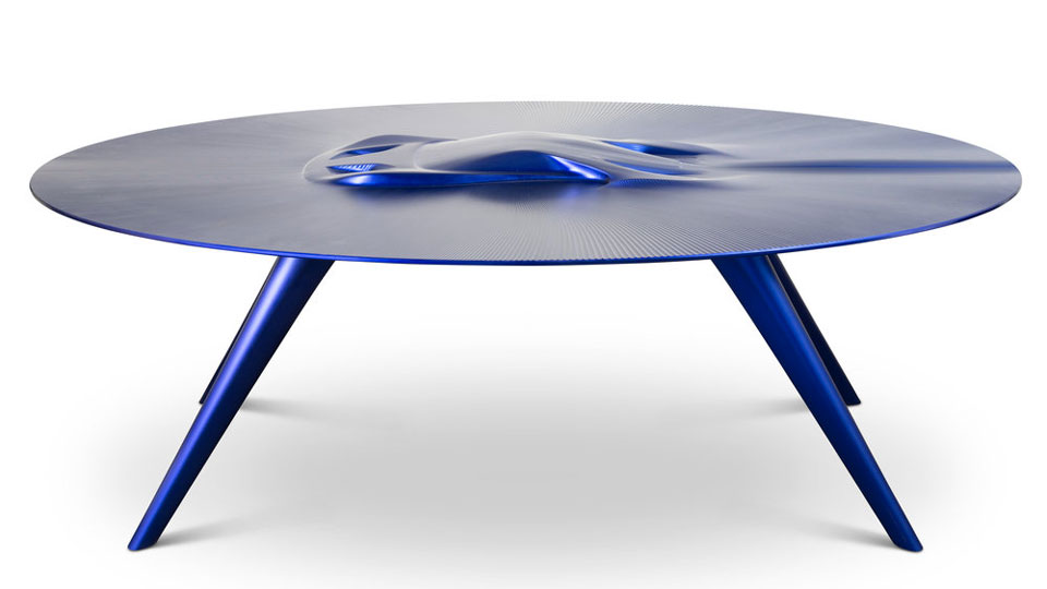 Discommon Embossed Vehicle Coffee Tables