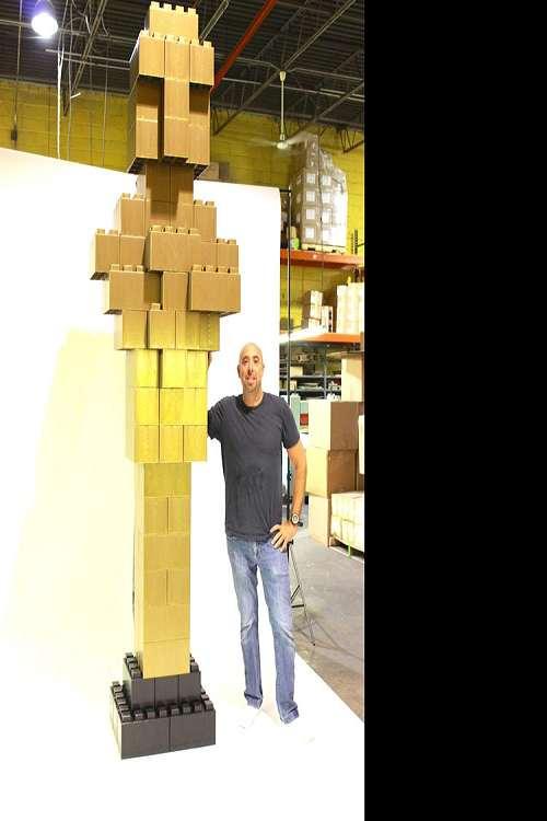 Everblock Life Size Building Blocks Dudeiwantthat Com
