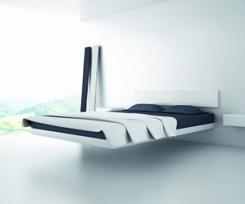 Unique Fluttua Floating Bed