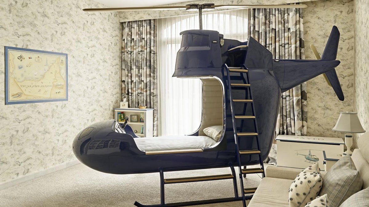 Helicopter Bed