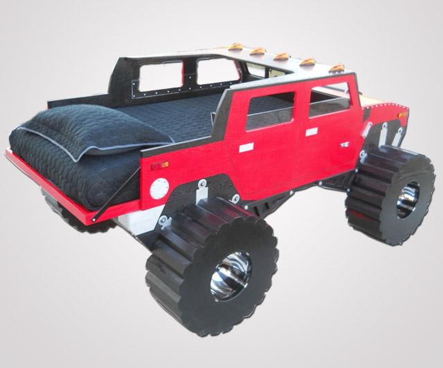 Toddler Monster Truck Bedding