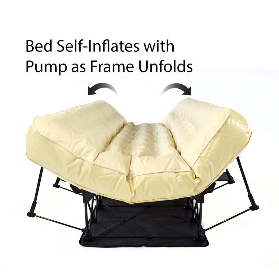 Ez Bed Self Inflating Air Mattress Dudeiwantthat Com