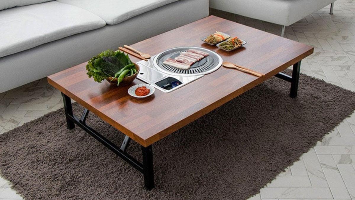 Korean BBQ Coffee Table