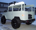Toyoat Fj40 Bed - View of Bed