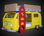VW Camper Bunk Bed
