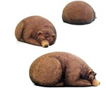 Big Sleeping Grizzly Bear Bean Bag