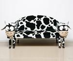Cow Sofa by Rodolfo Rocchetti