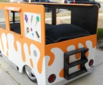 Ice Cream Truck Bed - View of Bed