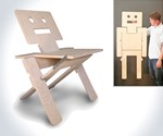 RoboChair - Folding Chair & Wall Art