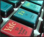 The Talking Periodic Table of Swearing - Closeup of Keys