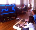 Working Nintendo Controller Coffee Table - Players in Action