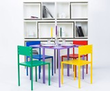 As if from Nowhere... Hidden Table & Chairs Bookcase