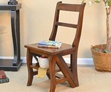 Benjamin Convertible Library Ladder Chair