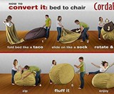 Convertible Bean Bag Chair Bed