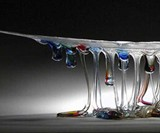 Glass Jellyfish Tables