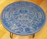 Hand-Carved Star Wars Table
