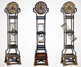 Hourglass Grandfather Clock