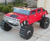 Hummer H2 Bed - Front View