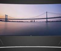Samsung Curved 105-Inch 4K Ultra HD TV
