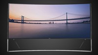 Samsung Curved 105-Inch 4K Ultra HD TV