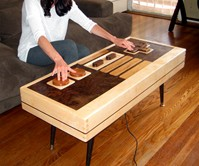 Working Nintendo Controller Coffee Table