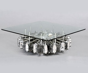 Airplane Engine Coffee Table