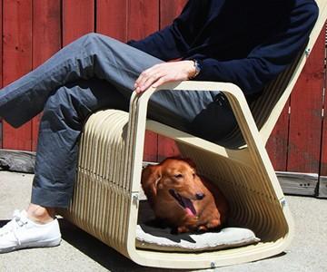 Human & Pet Rocking Chair | DudeIWantThat com