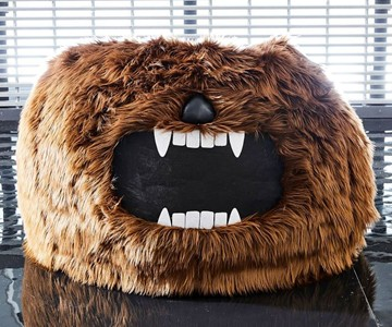 Amazing Star Wars Chewbacca Beanbag Bralicious Painted Fabric Chair Ideas Braliciousco