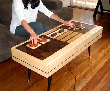 Awesome Working Nintendo Controller Coffee Table Alphanode Cool Chair Designs And Ideas Alphanodeonline