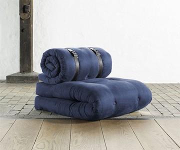 Buckel Up Belted Futon/Chair