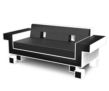 Retro Space Invader Couch
