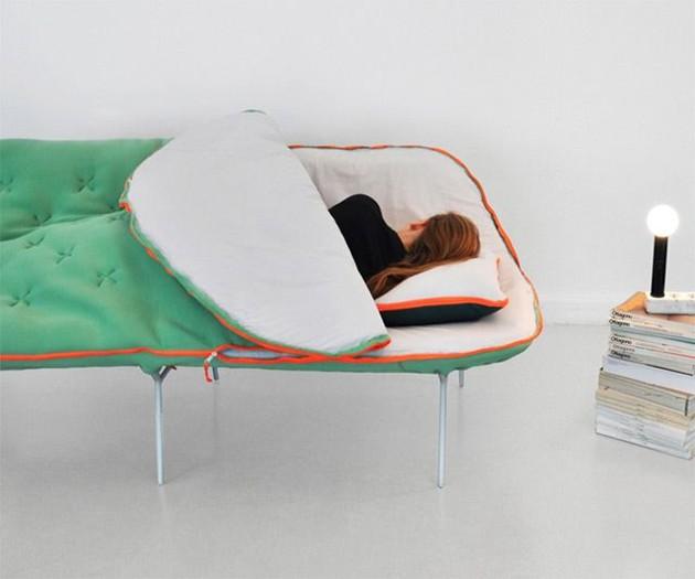 Sleeping Bag Sofa