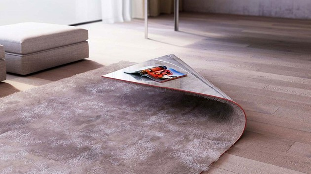 Stumble Upon Carpet Edge Table
