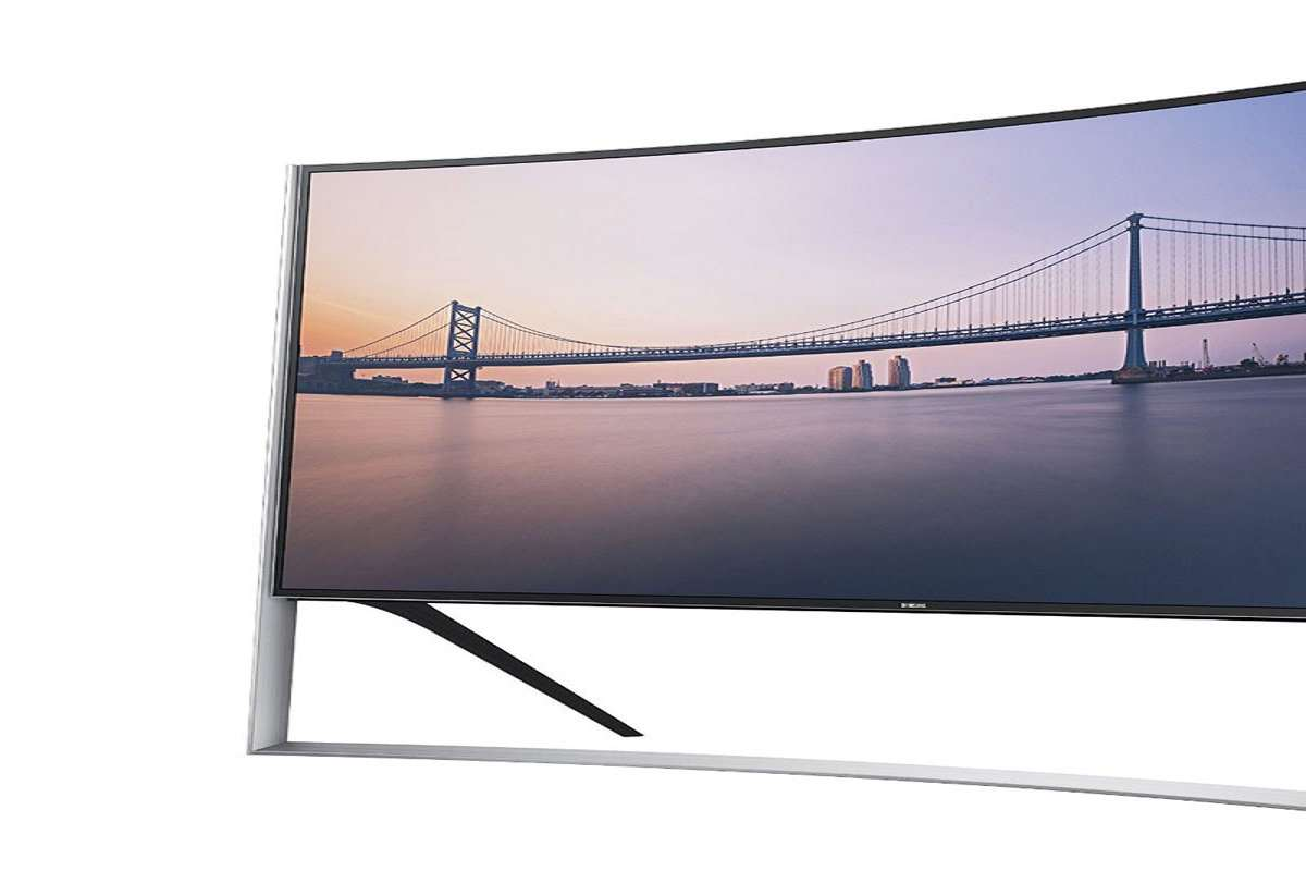 samsung curved 105 inch 4k ultra hd tv. Black Bedroom Furniture Sets. Home Design Ideas