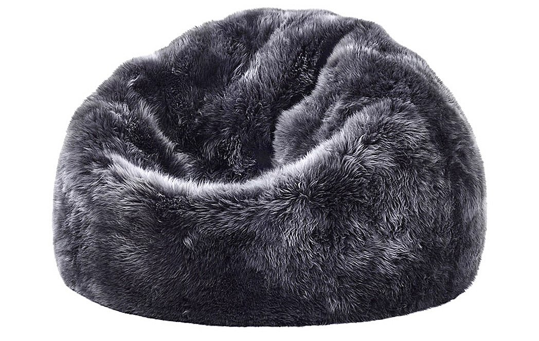 Sheepskin Bean Bag Chair Dudeiwantthat Com